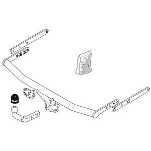 Brink Gancho de remolque para Land Rover Discovery Sport 2014 en adelante-Cuello de Cisne Barra de remolque