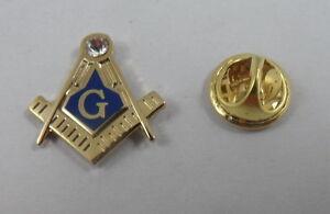 Small Square and Compass MASTER MASON Lapel Pin Masonic