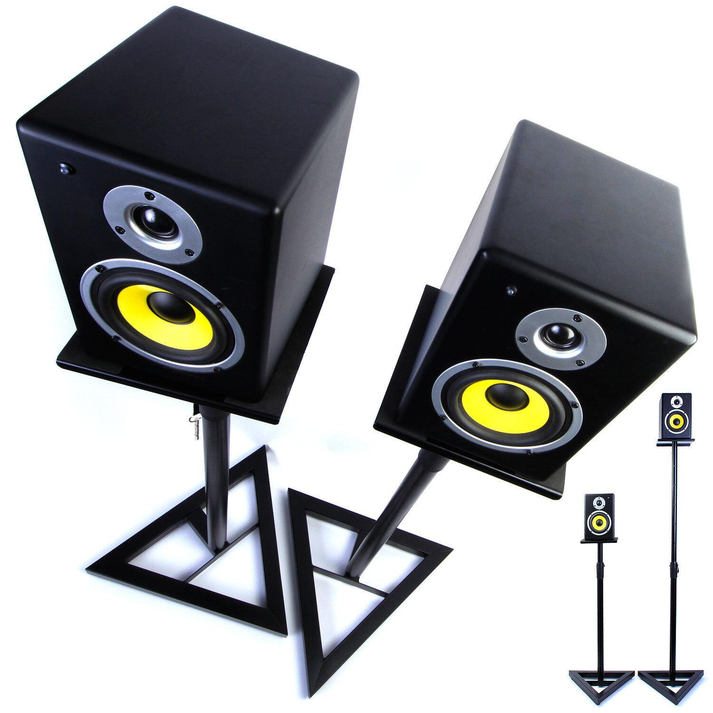 Monitor De Estudio Parlante stands dj surround Sonido Stands Stands Stands Heavy Duty único & Pares  centro comercial de moda