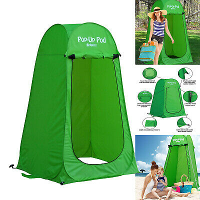 Pop Up Pod Privacy Shelter Portable Camping Changing Room Outdoor Toilet Room | eBay