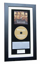 WESTLIFE Face To Face CLASSIC CD Album TOP QUALITY FRAMED+EXPRESS GLOBAL SHIP
