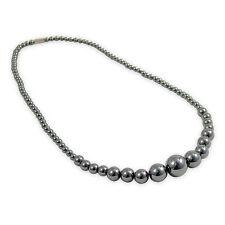 Haematite Round Bead Necklace