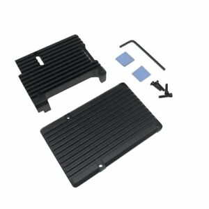 For-Raspberry-Pi-3-Aluminum-Case-with-Dual-Cooling-Fan-Metal-Shell-Black
