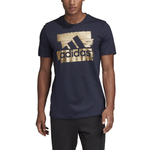 Adidas-Hommes-T-shirt-running-athletisme-FOIL-Bos-Tee-formation-mode-chic-DV3083