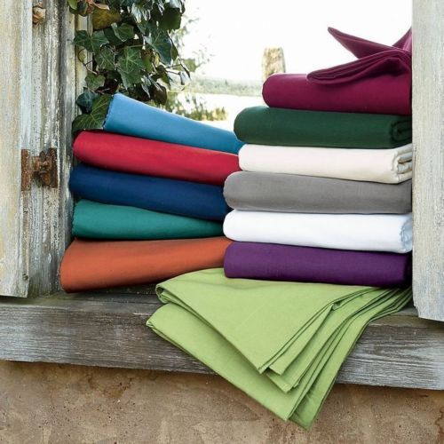 Deep Pkt Fitted Sheet+2 PC Pillow Egyptian Cotton All colors US Twin-XL Size