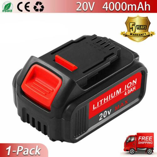20V for DCB206 20-Volt XR Lithium-Ion Battery 4.0Ah DCB205 DCB180 DCB200 DCB181