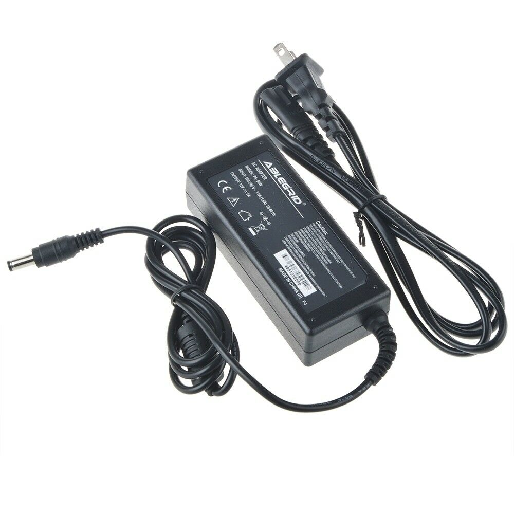 12V 5A AC Adapter for US LOGIC PV1710 LCD Monitor Cord Power Supply Charger PSU