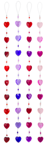 Ganz Sweetheart Garland Choose Your Color ACRYV-21