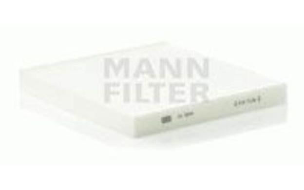 MANN-FILTER Filtro, aire habitáculo CITROEN JUMPER PEUGEOT 5008 BOXER CU 2544