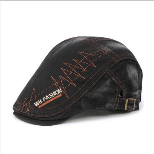 Mens Baker Hat Casual Peaky Blinders Newsboy Gatsby Herringbone Shelby Flat Cap