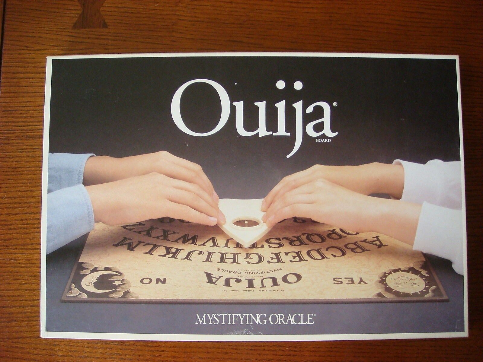 Ouija Oracle Board - Mystifying Oracle Ouija - Parker Brothers  No. 600 356d0d