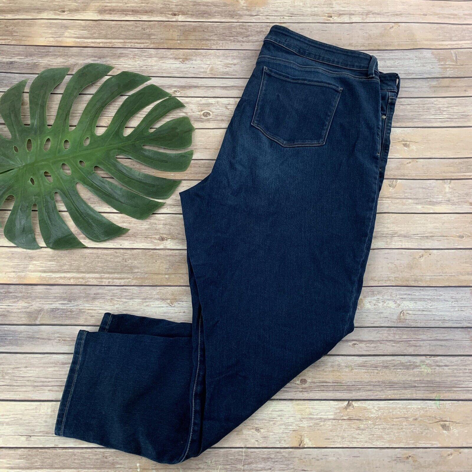 NYDJ Not Your Daughters Jeans Alina Legging Skinny Plus Size 24W Dark Wash
