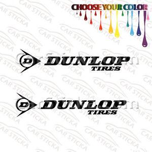 Dunlop Vinyl Sticker Decal