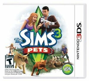 Details about The Sims 3: Pets [Nintendo 3DS, Puppies, Kitties, Dogs, Cats  Life Simulator] NEW