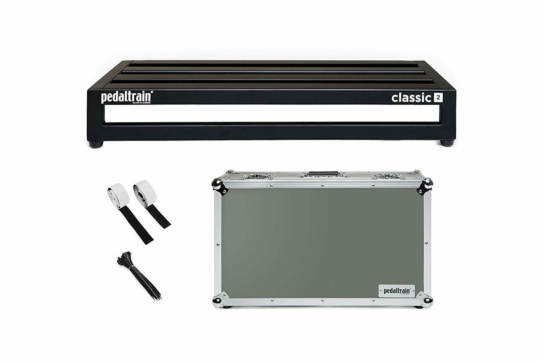 Pedaltrain PT-CL2-TC Guitar Effects Pedal Board, 24 x12.5  & Flight Case
