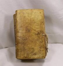 1683 Antique Vellum Binding Book German History Royal House of Sachsen