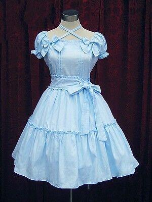 Ladies Sweet Elegant Layered Lolita Cosplay Dress Costume Custom Made Pink/Blue