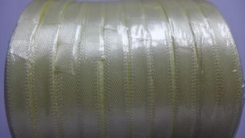 6mm ruban de satin x 22 m-Cadeau Décoration Gâteau couture faveur-uk vendeur