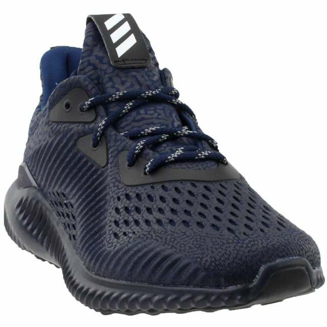 adidas Alphabounce AMS Casual Running Neutral Shoes Blue Mens