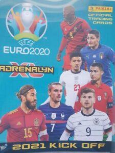 Panini Kick Off 2021 Euro 2020 limited edition Line Up Eriksen Schmeichel Nordic