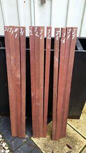 Western Australia Jarrah woodworking Craft, Boxmaking timber 32mm x 32mm x 999mm