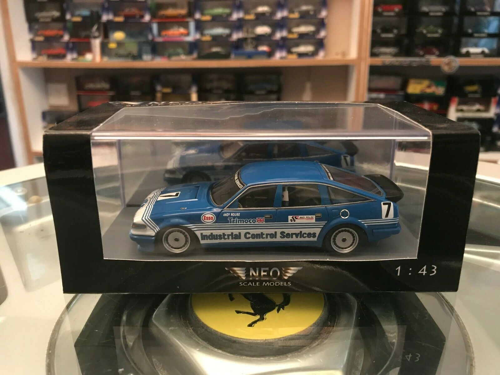 Neo 1984 Rover Vitesse ICS Andy Rouse BSCC 1 43 MIB only 300 pieces  Exc Detail