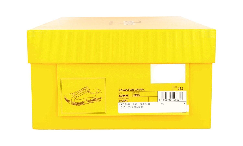 chaussures CAR chaussures BY PRADA PRADA PRADA LUSSO KDE66K038F noir NUOVE 38 38,5 515008