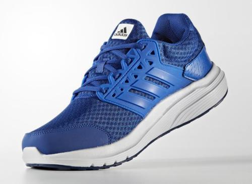 blue adidas shoes