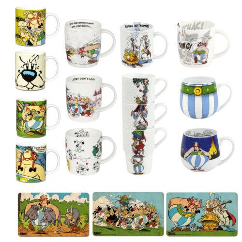 Asterix und Obelix Geschirr Kaffeebecher Teetassen Tassen Schneidbrettchen