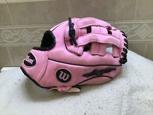 "Wilson A200 Girl/'s 10/"" Tball Tee Ball Softball Right Hand Throw Baseball Glove"