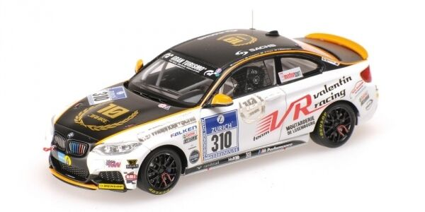 Bmw m 235 I racing prusa  piepenbrink schaflitzl 24h nurburgbague 2014 1 43 model  le meilleur service après-vente