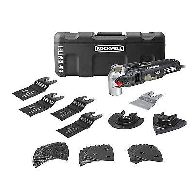 RK5141K Rockwell 4.0A Universal Hyperlock Sonicrafter F50 Oscillating Tool