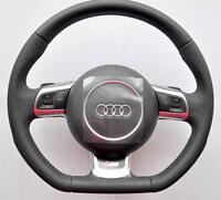 AUDI S Line A3 S3 A4 S4 A5 S5 A6 S6 A8 R8 Q5 Q7 TT RS steering wheel DSG PADDLES