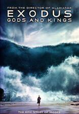 dvd Exodus Gods and Kings christian bale story of moses