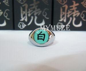 "Naruto Akatsuki Konan Cosplay Ring Symbol ""Bai"" Box Packed ..."