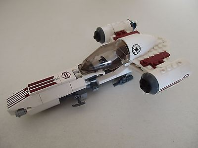 Pieces tête cagoule personnage LEGO STAR WARS Set 8085 Freeco Speeder