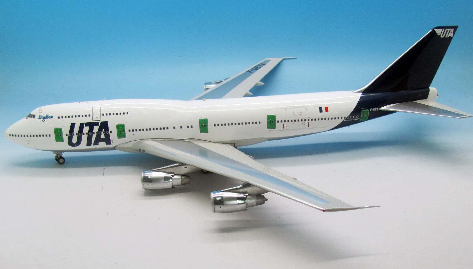 L'occasion L'occasion L'occasion n'est pas là tous les jours, lorsque le coup est tiré Inflight 200 IF743UTA001 1/200 UTA BOEING 747-300 F-Geta avec support | D'ornement  8d9cc4