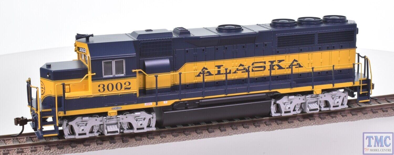66303 Bachuomon HO (US Outline) EMD GP40 GP40 GP40 Diesel  3002 Alaska (DCC suono Value) 7aeb49