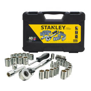 Stanley STMT71648 1/4 in. and 3/8 in. Drive Mechanic Tool Set (40-Piece)