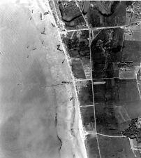 6x4 Gloss Photo ww75F Normandy D-Day Jb Juno Beach Vue Aerienne