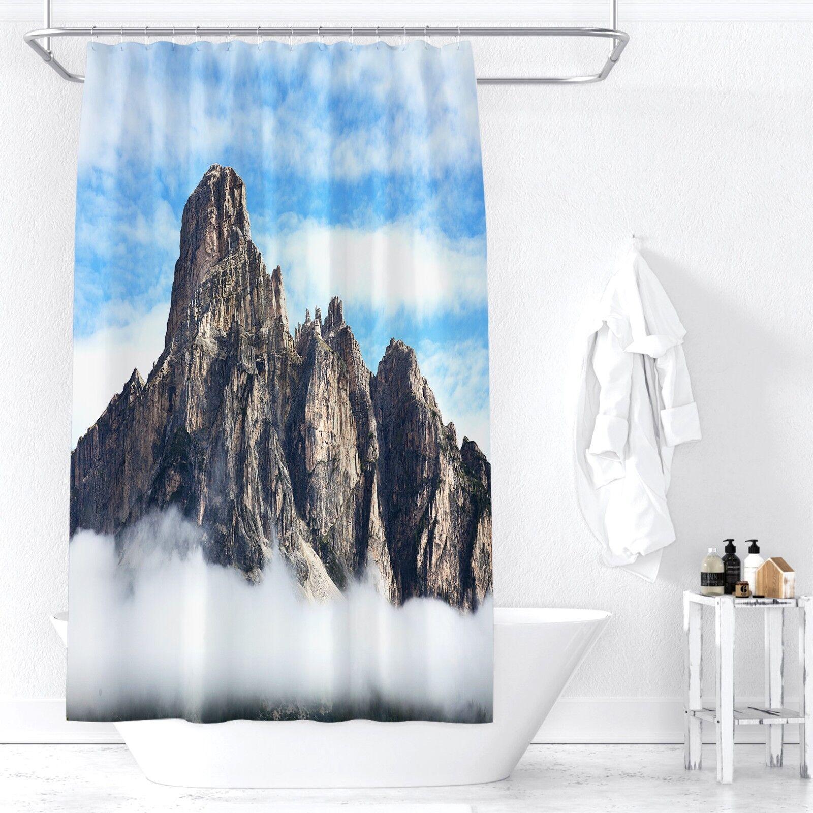 3D Berg Wolke 31 Duschvorhang Wasserdicht Faser Bad Daheim Windows Windows Windows Toilette DE | Quality First  6b2d71