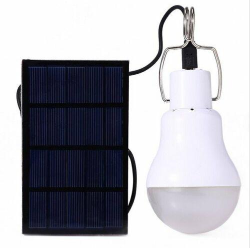 15W LED Solar Lamp Light Bulb Solar Light Camping Lamp Garden Outdoor Lighting