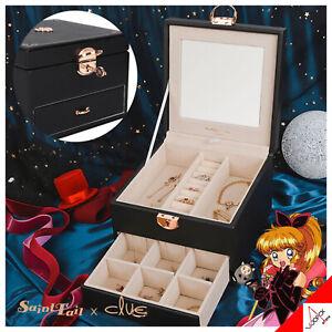 Clue x Saint Tail Schmuck Halskette Ohrringe Box Paket schwarz - 100% Authentic
