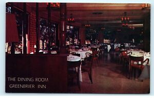 Image Is Loading Greenbrier Inn Hotel Restaurant Dining Room Garden Grove