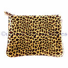 EDWARD MELLER New Natty Clutch Bag Zip Case Leather with Tag Dustbag