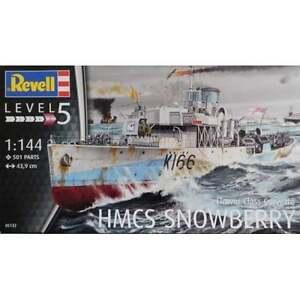Details about Revell 1:144 Scale Flower Class Corvette HMCS Snowberry Model  Ship Kit - 05132