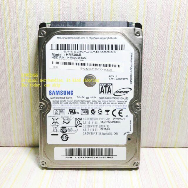 "Samsung Spinpoint M7 HM500JI 500GB Internal 5400RPM 2.5"" (HM500JI) Notebook HDD"