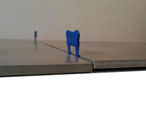 Kit nivellement carrelage 1mm 200 bases 50 cales 1 pince métallique Raimondi