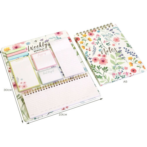 Weekly Planner Calender To Do List Shopping Memo Pad Office Stationery Notebook