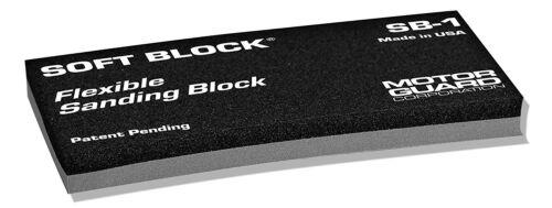 Motor Guard SB-1 Soft Block® Flexible Sanding Block Single Block